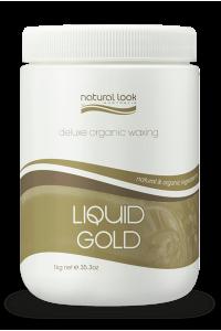 Liquid Gold Strip Wax Natural Look 1kg