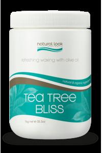 Tea Tree Bliss Strip Wax Natural Look 1kg