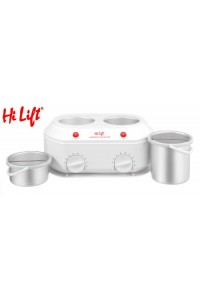 Twin Wax Heater Hi Lift Kompact 1 Litre + 500g