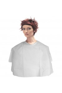 Cape Makeup Shoulder White Touch