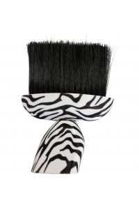 Neck Brush Plastic Zebra Handle Touch