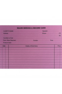 Record Card Pink Touch 100pkt