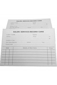 Record Card White Touch 100pkt