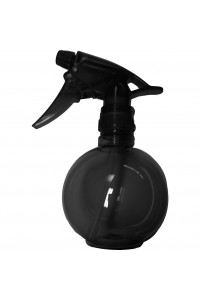 Waterspray Plastic Round Black Touch 375ml